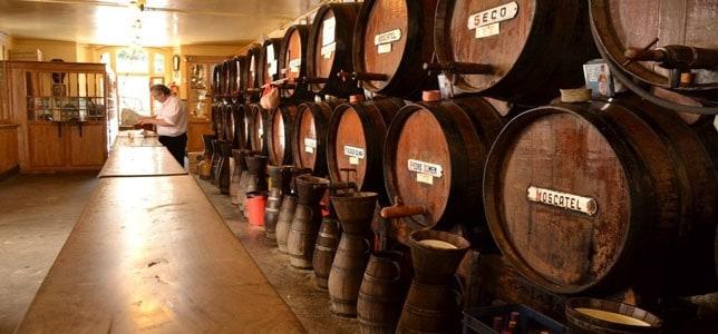 La Taberna Antigua Casa de Guardia i Malaga