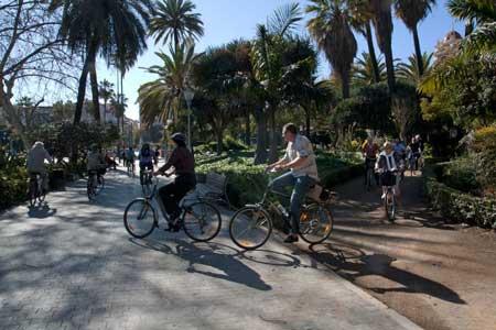 Malaga-bike-hire