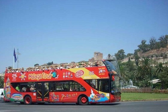 City Sightseeing Bus Malaga