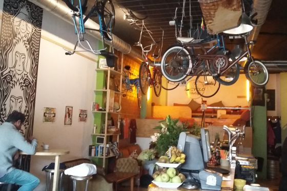 Recyclo Bike Cafe Malaga