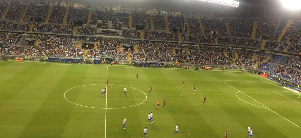 Malaga CF på La Rosaleda